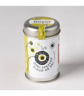 Soyer's Fleur de Sel Drei Pfeffer